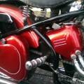 Custom lak JAWA 500 OHC