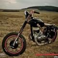 Kompletní lakování a stavba motocyklu